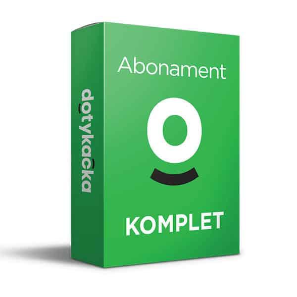 Plan abonamentowy Dotykačka KOMPLET