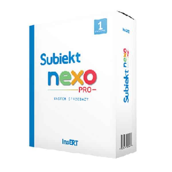 Subiekt nexo PRO - system magazynowy 1 stanowisko