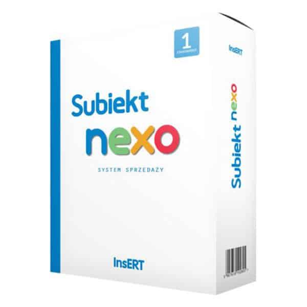 Subiekt nexo - system magazynowy 1 stanowisko