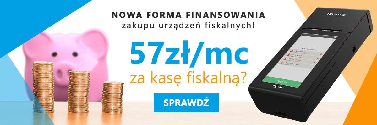 Slider Nowa forma finansowania zakupu urządzeń fiskalnych kasy na raty